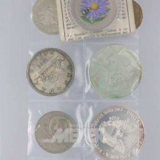 12 Münzen u. Medaillen