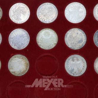 22 22 D-Mark-Münzen: