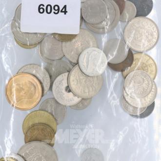 Posten Münzen und 1 Medaille