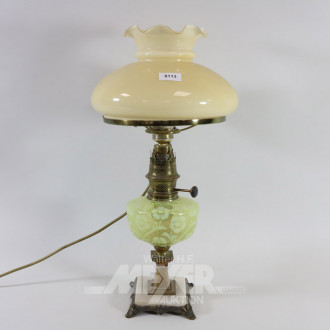 Petroleum-Lampe, elektrifiziert
