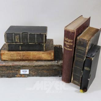 kl. Posten antiquarischer Bücher