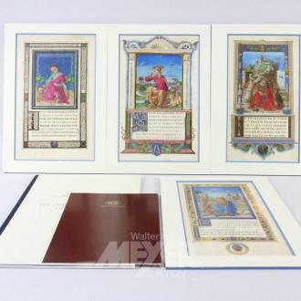 4 Tafeln ''Die 4 Evangelisten'',