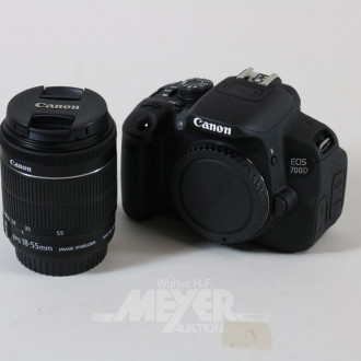 digitale Spiegelreflexkamera CANON,