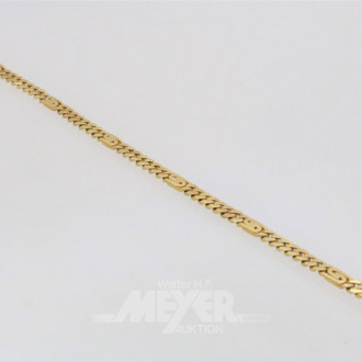 Armband, 585 GG, ca. 16 g.