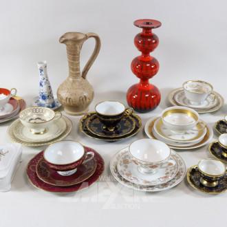 Posten Porzellan u. Keramik: