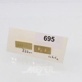 Paar Manschettenknöpfe, 333er GG
