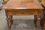 Gründerzeit-Schreibtisch, Mahagoni,
