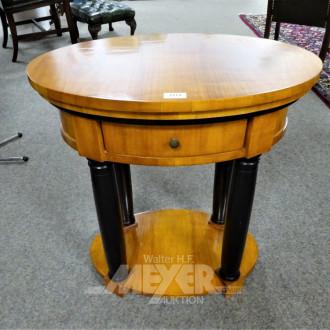 kl. ovaler Biedermeier-Stiltisch