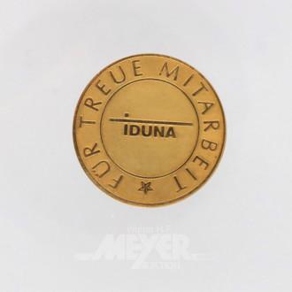Medaille, 585er GG ''IDUNA''
