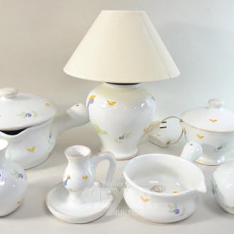 Keramik-Set, 7-tlg., best. aus: