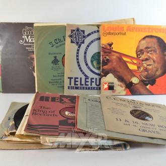 Posten Schellack und Langspielplatten