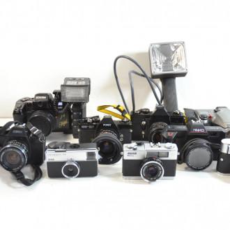großer Posten Fotoapparate und Zubehör,